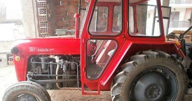 Traktor-Okletac