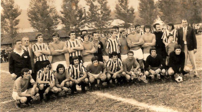 Гостовање београдског Партизана у Бајиној Башти 1972. године