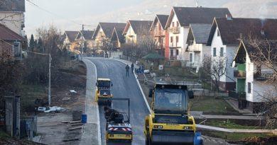 Улица краља Драгутина, асфалтирање