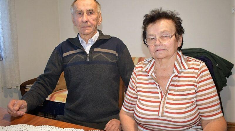 Миљко Јакшић са супругом Ковиљком