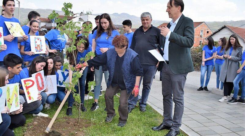 Гимназија , еколошка акција