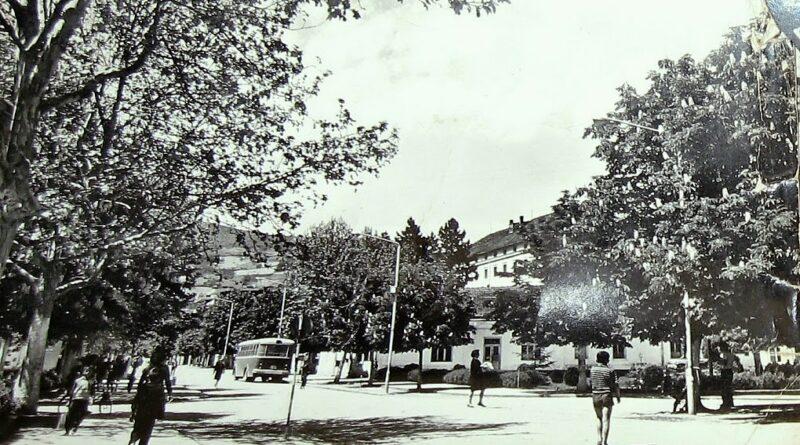 ББ вреемеплов - главна улица око 1965. године