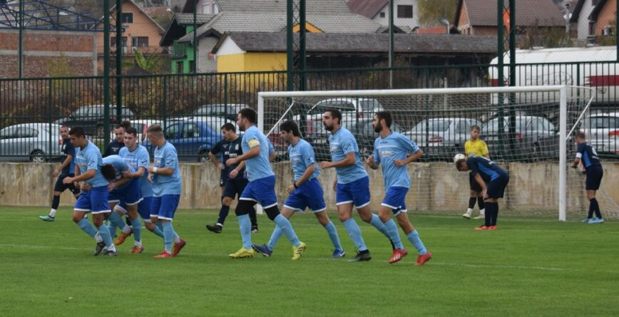 Радост играча Црнокосе после датог гола