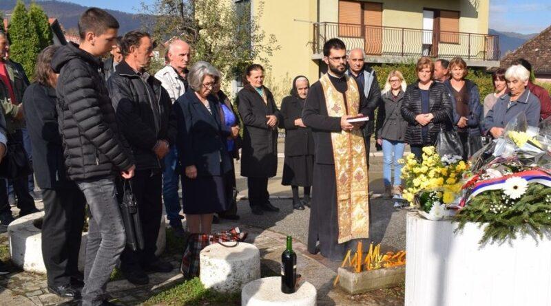 Парастoс погинулим у ратовима 1991-1999.