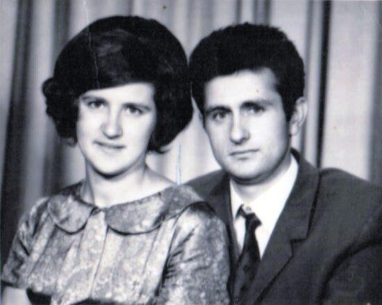 Јелена и Владимир пре 50 година на венчању