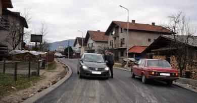 Нови изглед Карађорђеве улице, стигао асфалт
