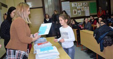 Награда за Лану Симић за резултате из математике