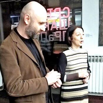 Изложба Срђана Шаровића
