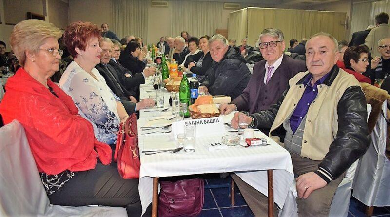 Бајина Башта: Пензионери славили Српску Нову годину