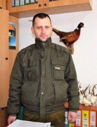 Милан Леонтијевић, управник ловишта