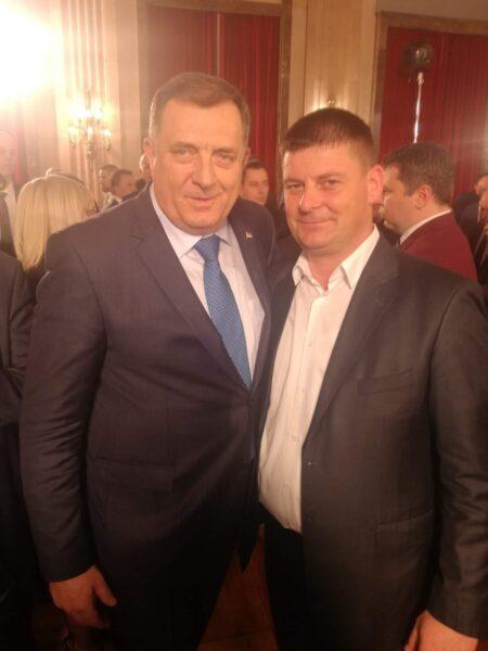 Милорад Додик и Младен Лукић