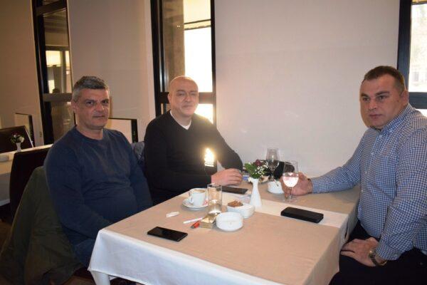 Predsednik Sloge na dogovoru sa celnim ljudima Hotele Cepter Drina