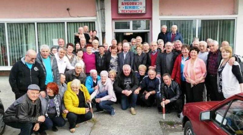 Учесници 2. Дринског купа за пензионере у Љубовији