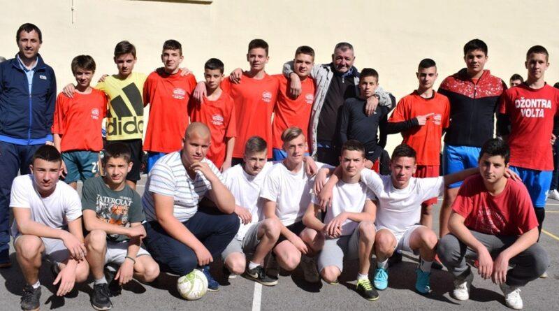 Екипе финалисти на општинском првенству у фудбал