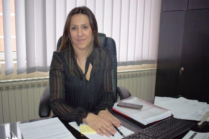 Јелена Филиповић, начелница Општинске управе