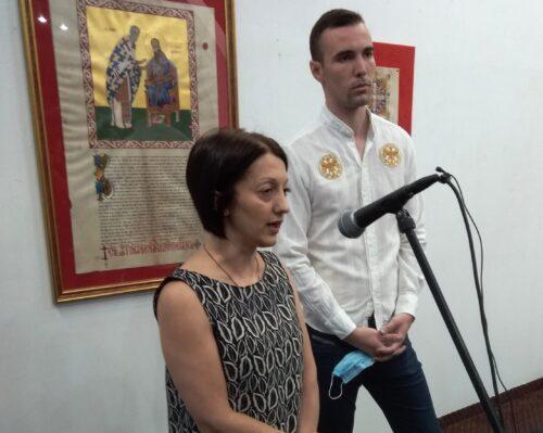 Изложба калиграфа Душана Мишића