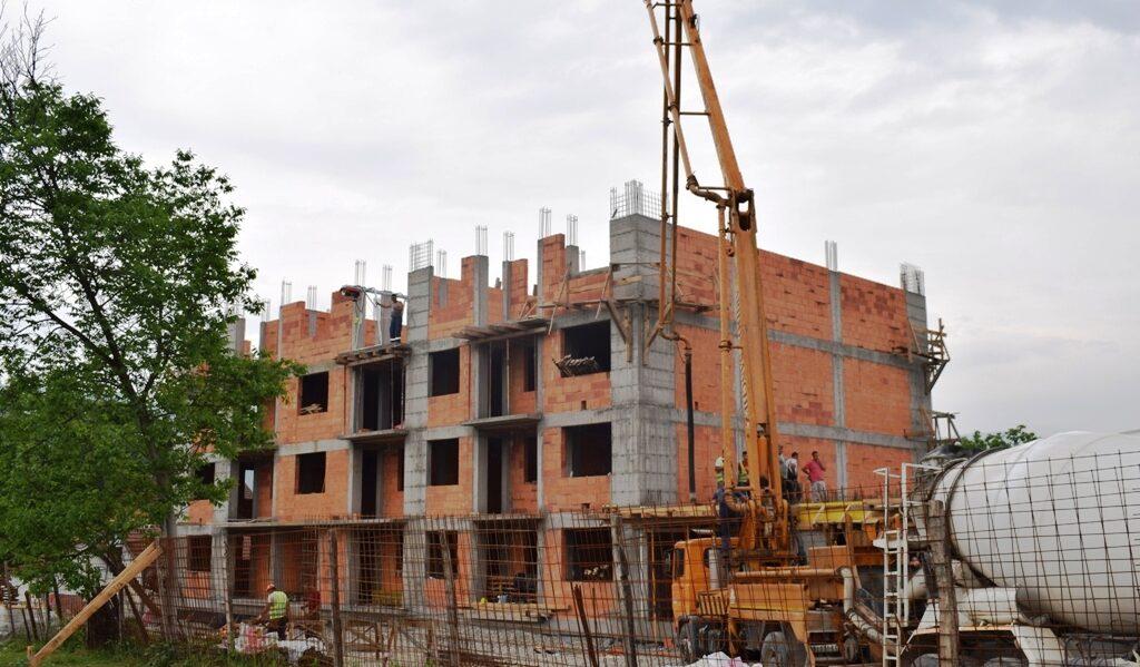 Nova stаmbena zgrada u naselju Kolonija