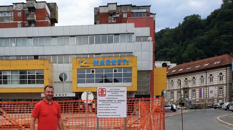 Драгић Глишић -Почели радови на подизању споменика