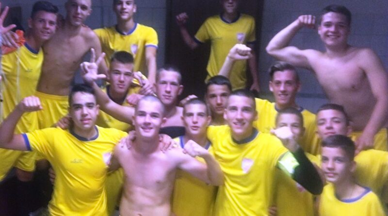 Радост кадета након победе над Златибором