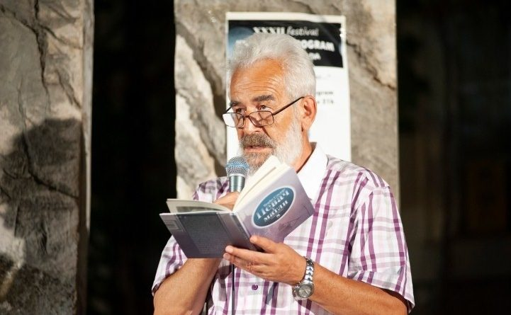 Песник Ђорђо Сладоје, добитник Рачанске повеље