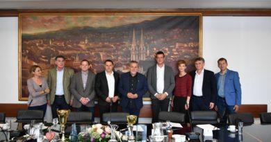 Посета делегације општине Б.Башта Загребу