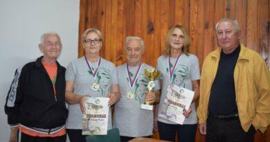 Екипа пнезионера Бајине Баште на Дринском купу у БАЊИ кОВИљачи