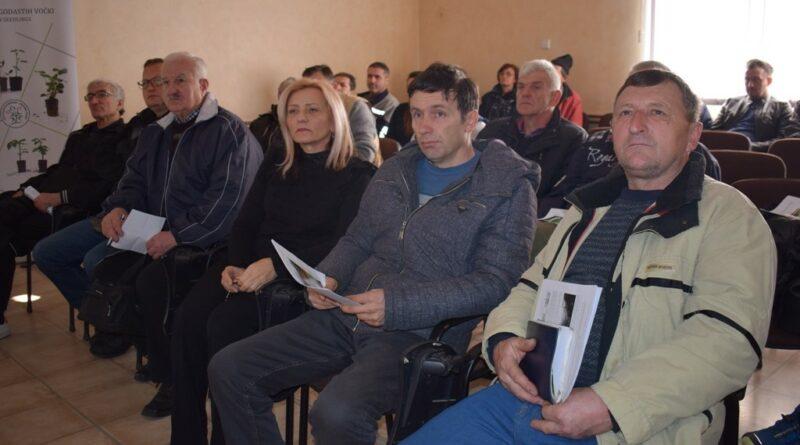 Малинари, предавање , Флорива Ивањица