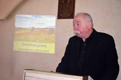 Предавање пчеларима др Драгана Ћирковића
