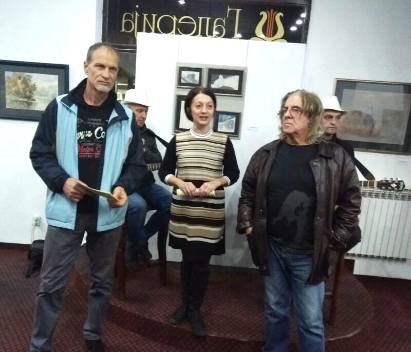 Са отварање изложбе у Галерији Установе Култура - Дрина етно-арт