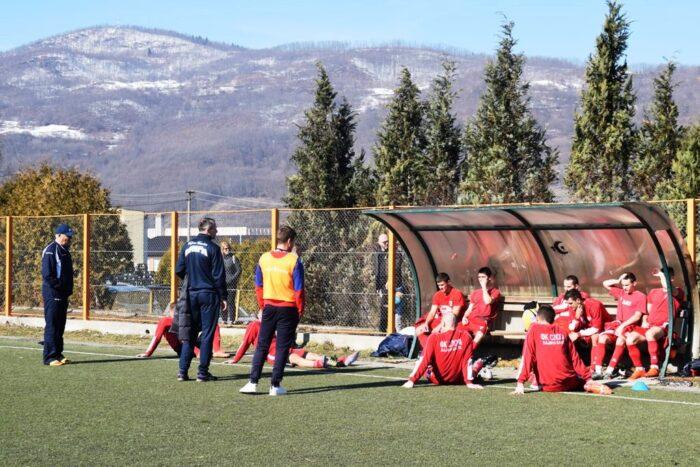 Сениори Слоге на тренинг утакмици