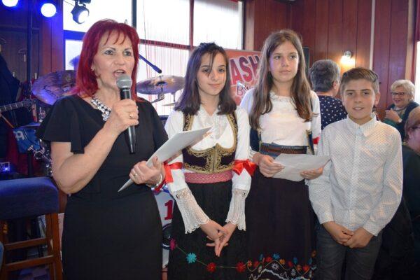 Зорица Тадић, председница МО УП Костојевићи поздрава госте