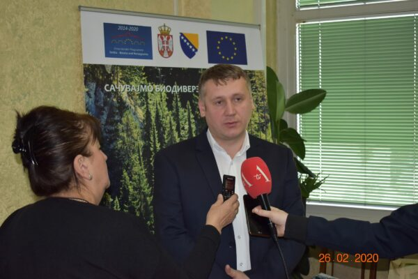 Драгић Караклић, директор НП Тара