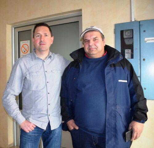 САВЕТИ Јелић са инжењером пољопривреде Николом Дамјановићем