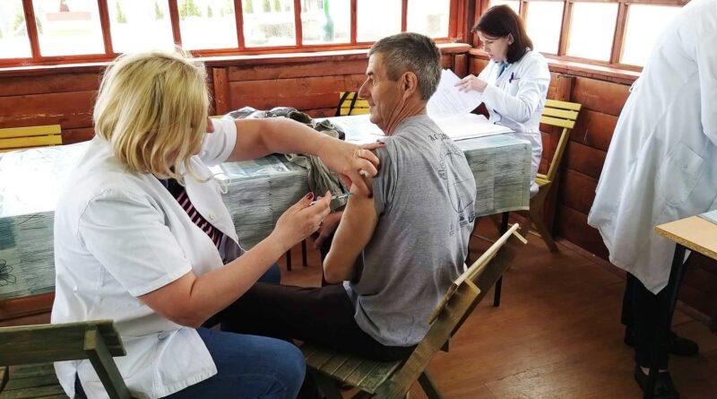 Вакцинисање у Заовинама