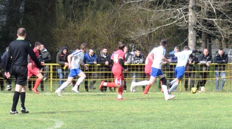 Са утакмице месних ривала Вишесава - Перућац