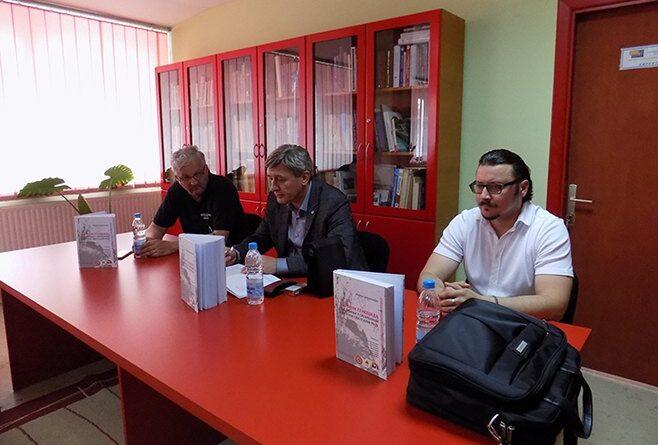 """Промоција зборника """"Злочин геноцида над Србима у Сребреници у Другом свјетском рату""""Фото: СРНА"""