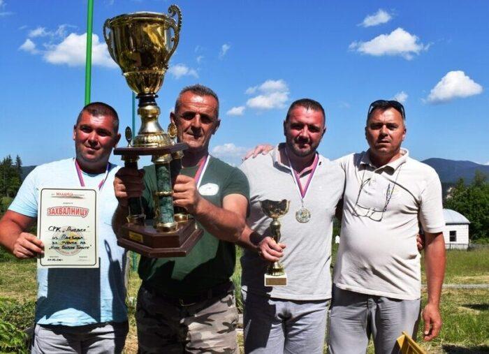 Победничка екипа Пљеваља