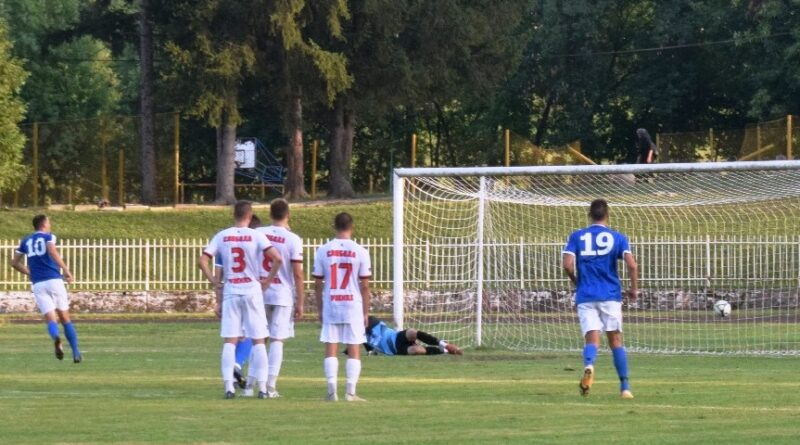 Ђорђевић (10) постиже гол са беле тачке