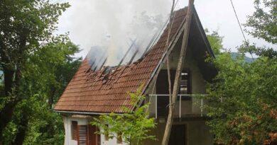 Пожар у Црвици