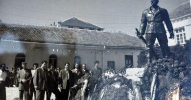 Откривање споменика, 1954. год.