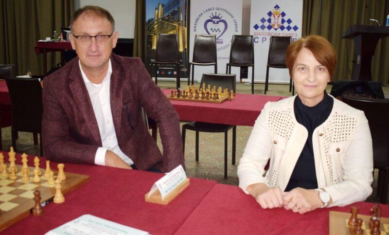 Драган Лазић и Лидија Вучковић